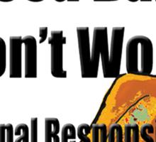 Breed Bans Don't Work Sticker