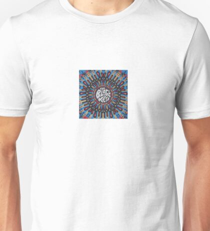 Black Keys Trippy Design Unisex T-Shirt