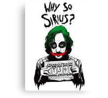 Why so Sirius? Canvas Print