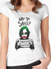 Why so Sirius? Women's Fitted Scoop T-Shirt