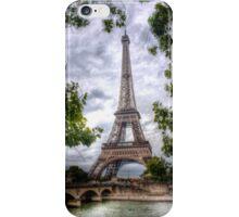 Eiffel Tower Framed iPhone Case/Skin