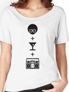 Formula for a Pre-party Women's Relaxed Fit T-Shirt