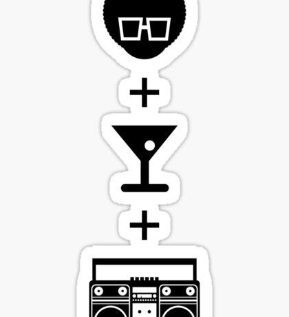 Formula for a Pre-party Sticker