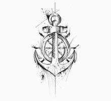 Anchor & Wheel Kids Tee