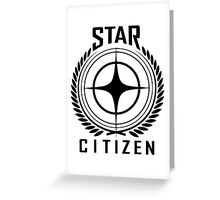 Star Citizen - Logo Greeting Card