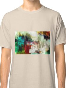 Abstract Staircase Classic T-Shirt