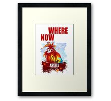 NoWhere NOWHere In Aruba  Framed Print