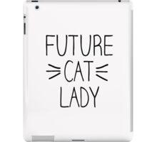 Future Cat Lady iPad Case/Skin