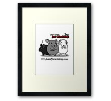 """Just Chinchilling!"" 2013 cover Framed Print"