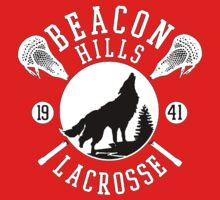 Beacon Hills Wolf Lacrosse Kids Clothes