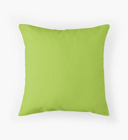 Android Green Throw Pillow
