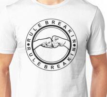 Fist Bump   Rule Breakin Unisex T-Shirt