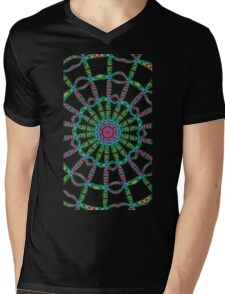 Ankh mandala Mens V-Neck T-Shirt