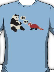 Questioning Pandas T-Shirt