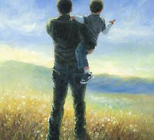 DAD AND ME FATHER AND SON by VickieWade