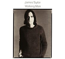 James Taylor - Walking Man Photographic Print
