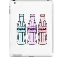 Tumblr Design  Coca ColaSoda Bottles iPad Case/Skin