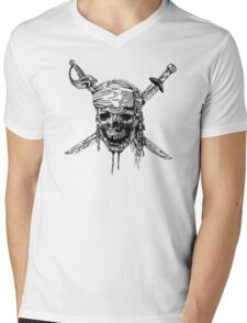 Pirates of the Caribbean  Mens V-Neck T-Shirt