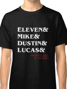 Stranger Things Characters Classic T-Shirt