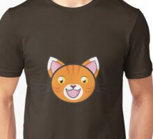 Ginger tabby cat Unisex T-Shirt