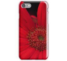 Red Flower in bloom iPhone Case/Skin