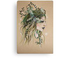 Woodland Spirit Faery Canvas Print
