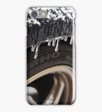 Tire Icicles iPhone Case/Skin