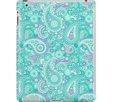 Green Paisley iPad Case/Skin