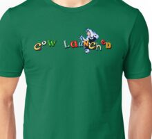 Earthworm Jim - Cow Launched Unisex T-Shirt