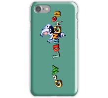Earthworm Jim - Cow Launched iPhone Case/Skin