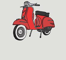 Vespa Illustration - Red Unisex T-Shirt
