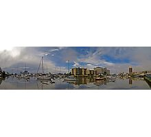 Ross Creek - King Tide - Townsville  Photographic Print