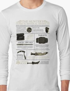 The Hunters Guide to Mystical Artifacts Long Sleeve T-Shirt