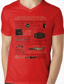 The Hunters Guide to Mystical Artifacts Mens V-Neck T-Shirt