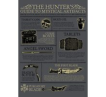 The Hunters Guide to Mystical Artifacts Photographic Print