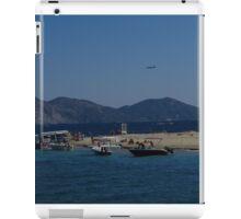 Marathonisi Beach, Turtle Island iPad Case/Skin
