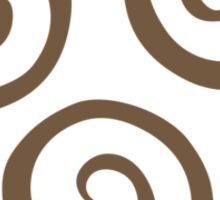 Airbending Symbol (brown) Sticker