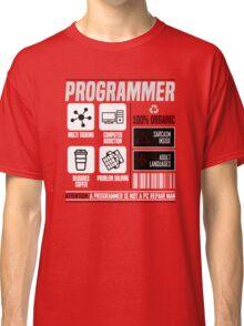 Programmer for dummies Classic T-Shirt