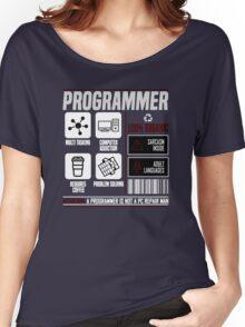 Programmer for dummies Women's Relaxed Fit T-Shirt