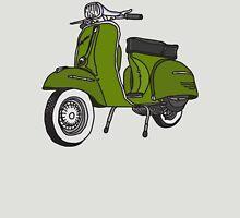 Vespa Illustration - Pesto Green Unisex T-Shirt