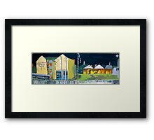 The Seafarers' Centre: Freo After Dark Framed Print