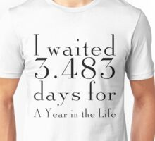 Countdown to A Year in the Life Unisex T-Shirt