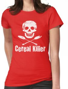 The Cereal Killer Womens Fitted T-Shirt