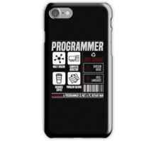 Programmer for dummies iPhone Case/Skin