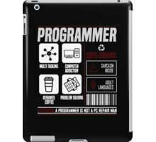 Programmer for dummies iPad Case/Skin