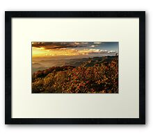 The Craggies  Framed Print
