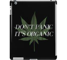 Don't Panic it's Organic Vintage Print iPad Case/Skin