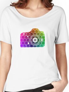 Camera Colors Women's Relaxed Fit T-Shirt