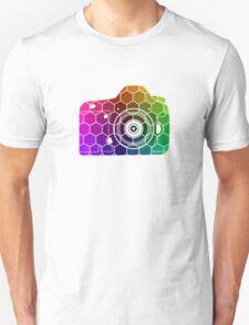 Camera Colors Unisex T-Shirt