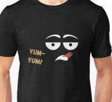 Yum-yum face Unisex T-Shirt